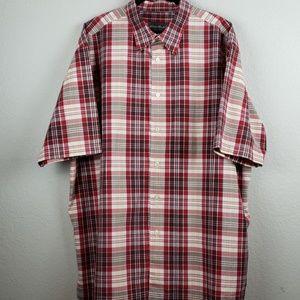 Eddie Bauer | Men's Short Sleeve Shirt Size XL